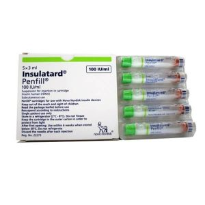 Insulatard (Insulin human rDNA 100IU-ml)